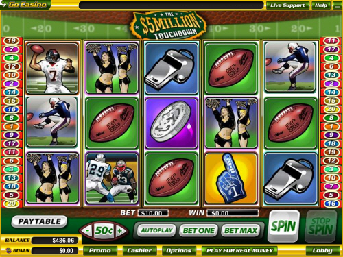 Online casino having million dollar touchdown percent good tables slot machines